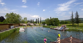 Leisure and nature in unison: The Naturbad Riehen