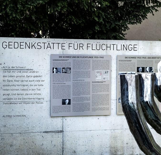 Gedenkstätte für Flüchtlinge Riehen