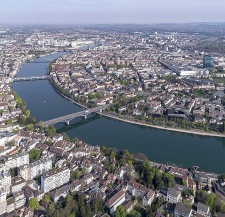 Luftbild_Rhein_Basel_Dreiland_BaselTourismus