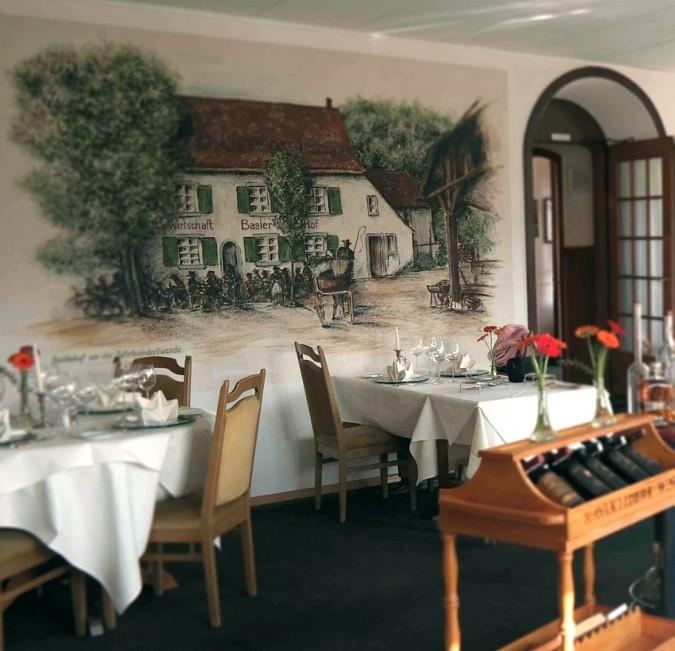 Baslerhof Restaurant Riehen Bettingen