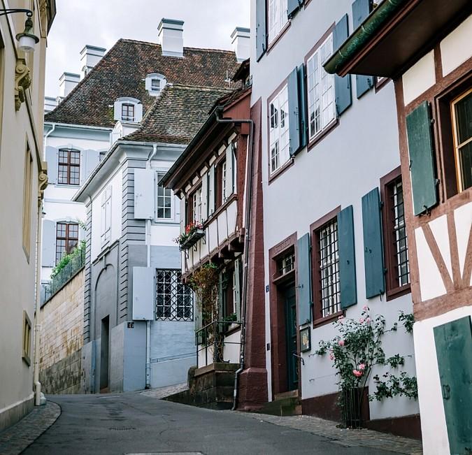 Basler Altstadt Riehen Basel Sehenswürdigkeiten